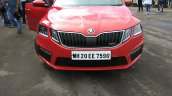 Skoda Octavia RS India front view