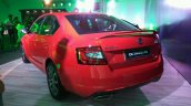 Skoda Octavia RS India left rear three quarters
