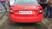 Skoda Octavia RS India rear view