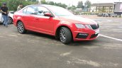 Skoda Octavia RS India side