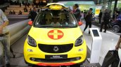 Smart ForFour Brabus Forrescue front at the IAA 2017