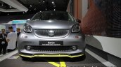 Smart Fortwo Brabus edition asphaltgold front showcased at the IAA 2017