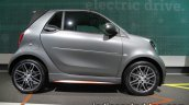 Smart Fortwo Brabus edition asphaltgold side showcased at the IAA 2017