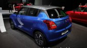 Suzuki Swift Dual Tone at IAA 2017 Frankfurt left rear three quarters