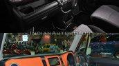Suzuki Xbee Outdoor Adventure concept vs. Suzuki Hustler dashboard