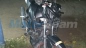 TVS Apache RTR 160 spied with Apache RTR 200 body front