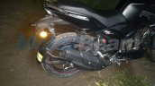 TVS Apache RTR 160 spied with Apache RTR 200 body seat