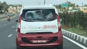 Tata Nano Electric spotted testing rear view