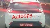 Tata Nexon AMT XZA Spied rear view