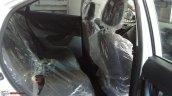 Tata Nexon XM rear seats spy shot