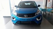 Tata Nexon spotted at dealership in base XE trim front view