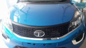 Tata Nexon spotted at dealership in base XE trim grille