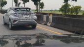 Thai-spec Toyota C-HR rear three quarters left side spy shot