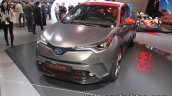 Toyota C-HR Hy-Power Concept headlamp bumper and front at IAA 2017