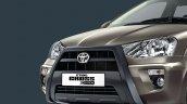 Toyota Etios Cross X-Edition front bumper