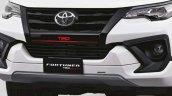Toyota Fortuner TRD Sportivo front bumper spoiler