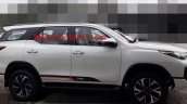 Toyota Fortuner TRD Sportivo side view