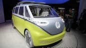 VW I.D Buzz concept front quarter showcased at the IAA 2017
