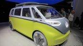 VW I.D Buzz concept front three quarter showcased at the IAA 2017