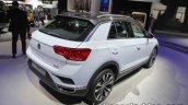 VW T-ROC rear three quarters right at IAA 2017