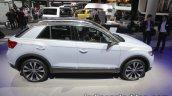 VW T-ROC side profile at IAA 2017