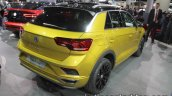 Volkswagen T-Roc R-Line rear three quarters at IAA 2017