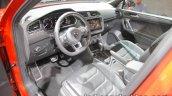 Volkswagen Tiguan Allspace R-Line dashboard at IAA 2017