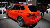Volkswagen Tiguan Allspace R-Line rear three quarters left at IAA 2017