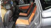 Volkswagen Tiguan Allspace rear seat at IAA 2017