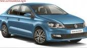 Volkswagen Vento ALLSTAR front three quarters