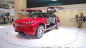 Wey XEV concept front three quarters at IAA 2017