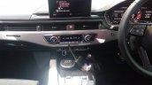 2017 Audi S5 Sportback blue centre console