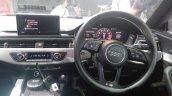 2017 Audi S5 Sportback blue dashboard driver side