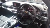 2017 Audi S5 Sportback blue dashboard right side view