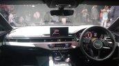 2017 Audi S5 Sportback blue dashboard