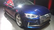 2017 Audi S5 Sportback blue front three quarters right side