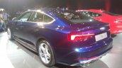 2017 Audi S5 Sportback blue rear three quarters left side