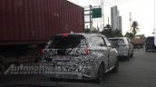 2018 Daihatsu Terios (Toyota Rush) spied rear view