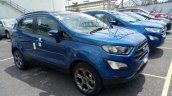 2018 Ford EcoSport Titanium S front three quarters spy shot