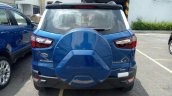 2018 Ford EcoSport Titanium S rear spy shot