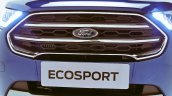 2018 Ford EcoSport facelift India-spec grille