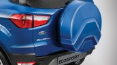 2018 Ford EcoSport facelift India-spec spare wheel cover