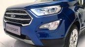 2018 Ford EcoSport facelift nose