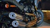 2018 Harley Davidson Fat Bob exhaust pipes