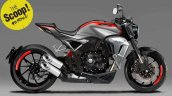 2018 Honda CB 1000 R standard Young Machine Rendering