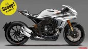 2018 Honda CB1000R cafe racer Young Machine Rendering
