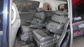 2018 Honda Odyssey (facelift) rear seat at the Tokyo Motor Show