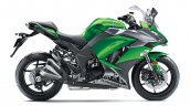 2018 Kawasaki Ninja 1000 press shot green