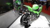 2018 Kawasaki Ninja 250 rear three quarters at 2017 Tokyo Motor Show