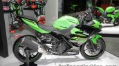 2018 Kawasaki Ninja 400 side at the Tokyo Motor Show